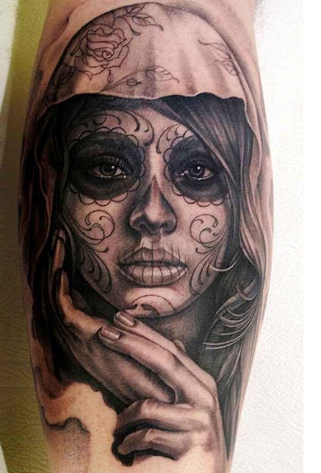 25 Jaw-Droppingly Amazing Portrait Tattoos