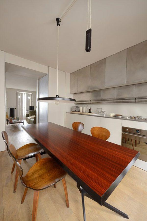 Architect Pierre Saalburg Created An Architectural Agency In 2003 Called  LSL Architects. This Paris Location · Minimal KitchenRefurbishmentModern ...
