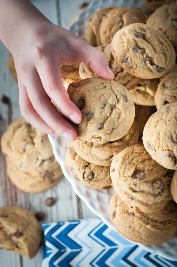 Dunkable Classic Chocolate Chip Cookies. The chocolate chip cookie is probably the most popular cookie in North America. We think we've achieved the perfect dunkable cookie. Dunk on friends!