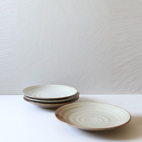 Casual line Oatmeal Round Plate 25, set of 4 / $74.00
