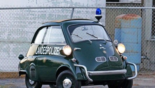 You Have the Right to Remain Adorable - 1957 BMW Isetta