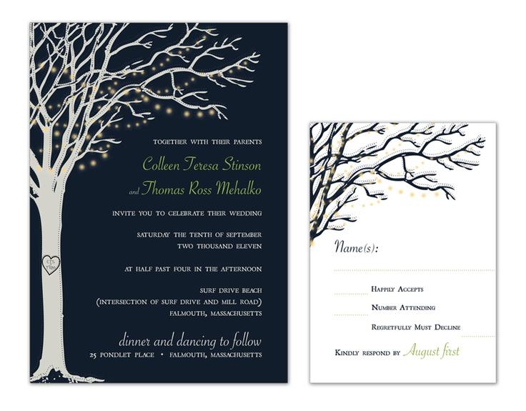 Backyard Wedding Invitation: Backyard Wedding Invitation