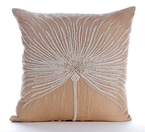 Beige Throw Pillows Cover for Couch, Beaded Tree Throw Pi... https://www.amazon.com/dp/B016H8WSOE/ref=cm_sw_r_pi_dp_x_c4iGyb54TENTF
