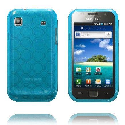 Amazona (Vaaleansininen) Samsung i9003 Galaxy SL Silikonisuojus