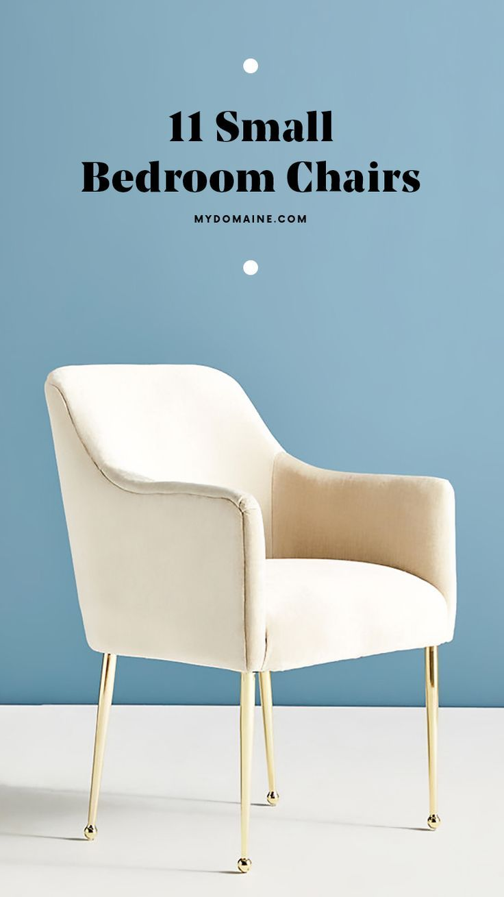 The 12 Best Small Accent Chairs To Brighten Up Your Bedroom Small Chair For Bedroom Small Comfy Chair Small Chair