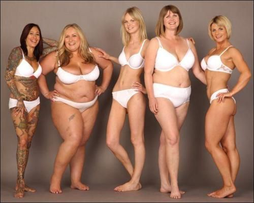 All these women look different. Be inspired. Not to look like any one of them, just to look like a healthy you.