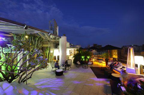 La Terraza del Claris, restaurante-bar en Barcelona, Claris Hotel