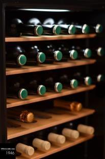 La cantinetta per il vino e le bibite.  Suggeriamo gli elettrodomestici più all'avanguardia e che si sposano meglio con l'ambiente - con un'attenzione particolare al risparmio energetico.