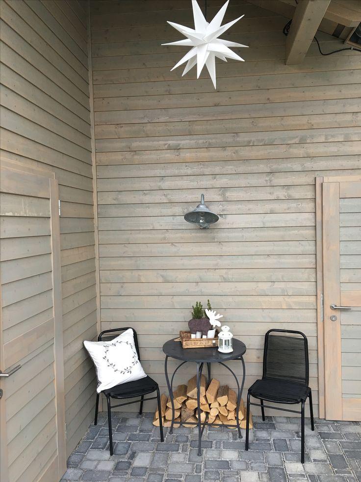Nordische Sitzecke Im Garten # Weihnachten | Mein Garten ... Feuerkorb Im Garten Gestaltungstipps