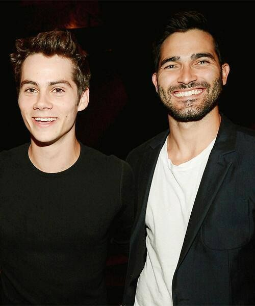 Dylan O'Brien and Tyler Hoechlin. I'm not even going to pretend I watch Teen Wolf for the plot.
