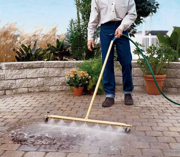 Water Broom Pressure Sweeper