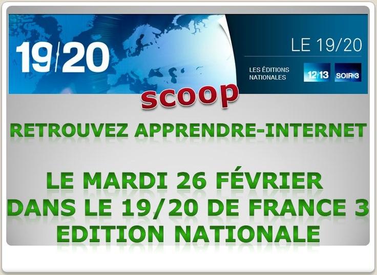 Retrouvez Apprendre Internet sur France 3  http://apprendre-internet.eu/evenements/apprendre-internet-sur-france-3/?ap_id=seby57