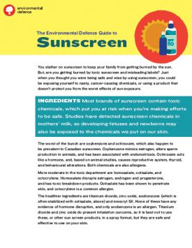 About The Guide: You slather on sunscreen to prevent getting burned by the sun. But, are you getting burned by toxic sunscreen and misleading...Read More