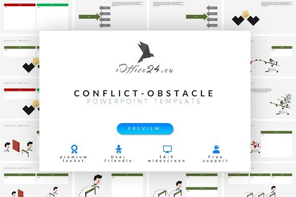 Conflict, obstacle by ioffice24 on @creativemarket