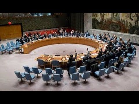United Nations - LIVE - Security Council – The Situation in the Middle E...