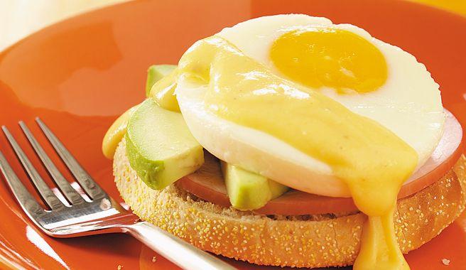 Avocado Eggs Benedict