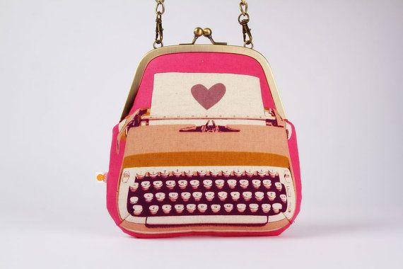 Clutch bag  Typewriter @Susan Sheldon