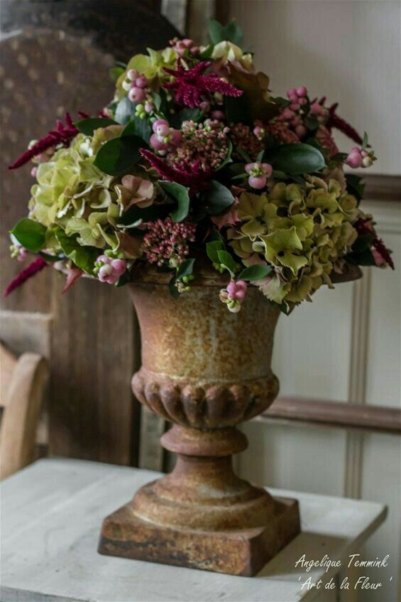 Hydrangeas & Snow Berry (without instructions)  – Herbst – #amp #berry #Herbst #…