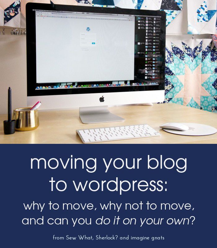 blogging resources: moving to wordpress from blogger || imaginegnats.com