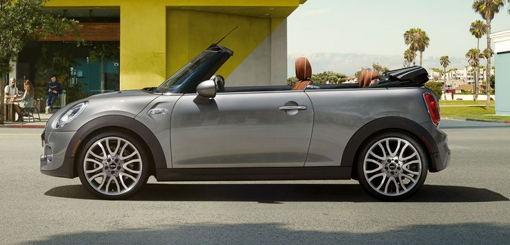 Discover the thrill of open motoring in a MINI Convertible.