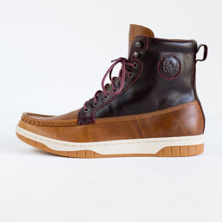 DIESEL - Y00839 PR666 H5400 CLUB TATRA - brn leather boots DIESEL - Y00839 PR666 H5400 CLUB TATRA - brn leather boot