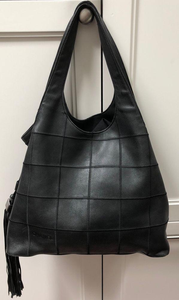 Chanel Black Lambskin Leather Shoulder Bag With Tassel  fashion  clothing   shoes  accessories  womensbagshandbags (ebay link) 6cc4f8eb62