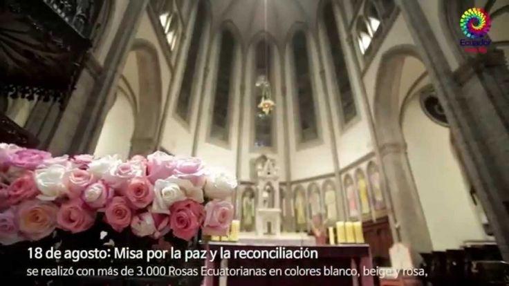 Rosas ecuatorianas en Corea del Sur