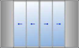 Les 25 meilleures id es de la cat gorie baie vitr e galandage sur pinterest - Baie vitree galandage 4 vantaux ...