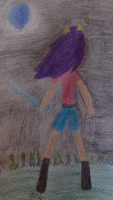 """""""Feel my wrath"""" Minecraft KittyCatgirl08 drawing #kittycatgirl08"""
