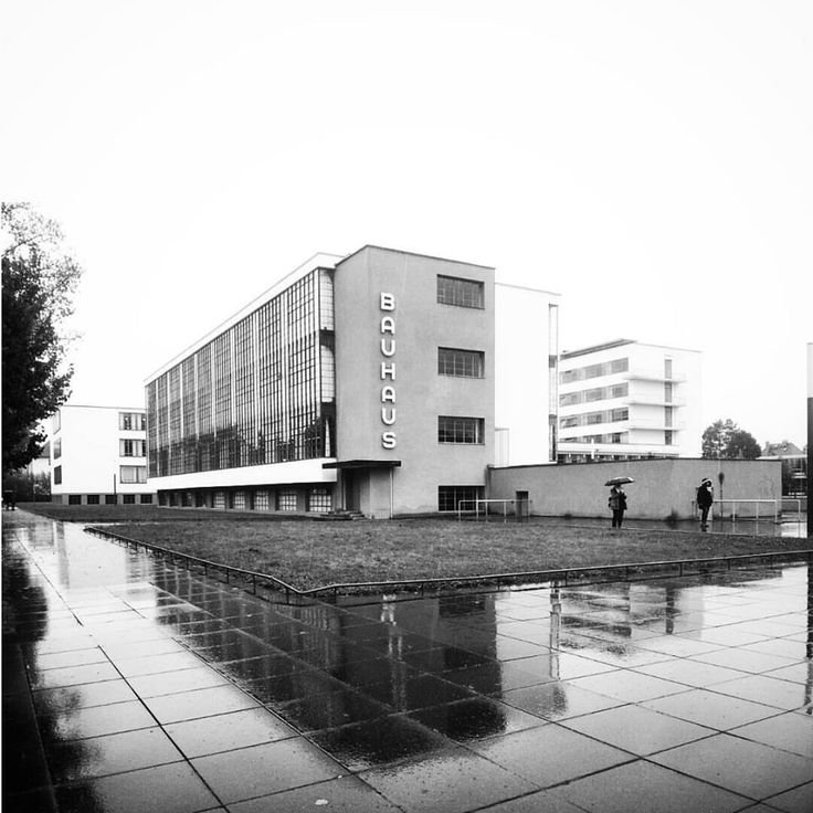 Bauhaus The school of art and architecture Dessau Germany