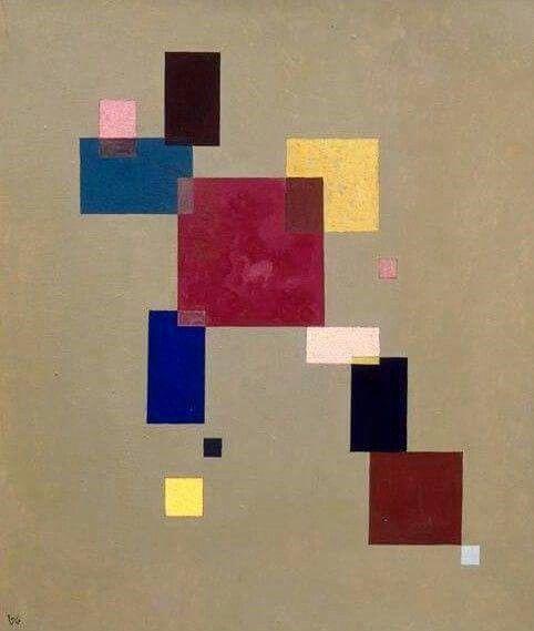 Wassily Kandinsky Thirteen rectangles, 1930