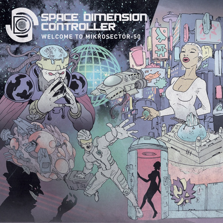 Space Dimension Controller - Welcome to Mikrosector-50 [RandS]