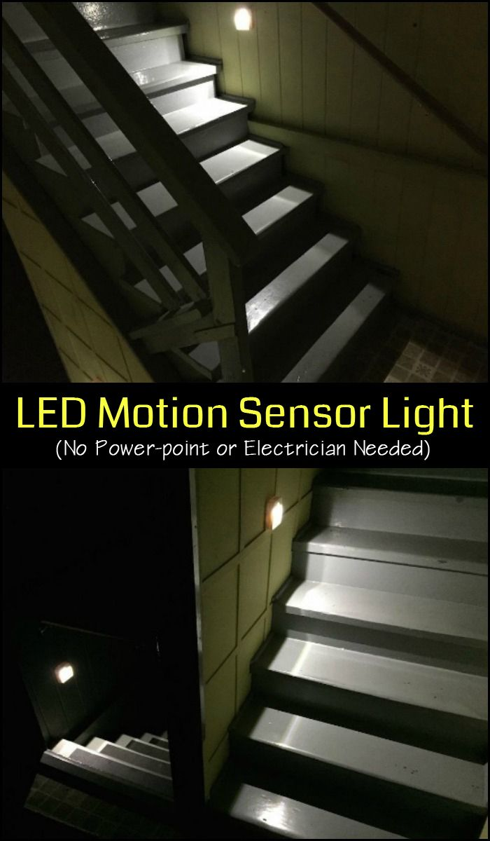 This LED motion sensor night light installs anywhere without the need for a power-point or electrician! Need some for your home?