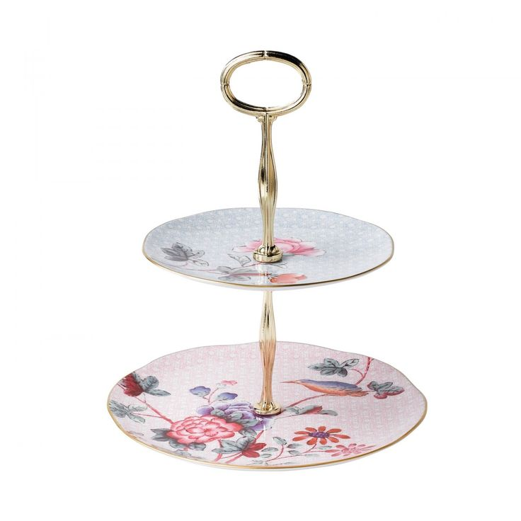 Cuckoo Two Tier Cakestand