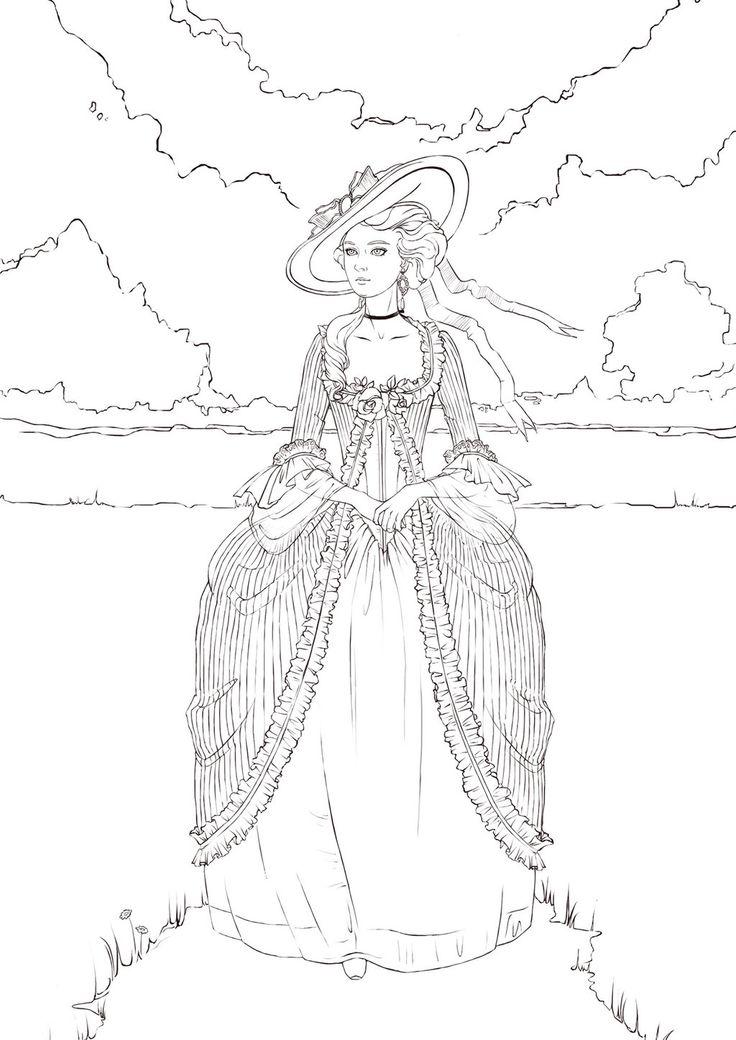 Antoinette by Ngaladel.deviantart.com on @deviantART