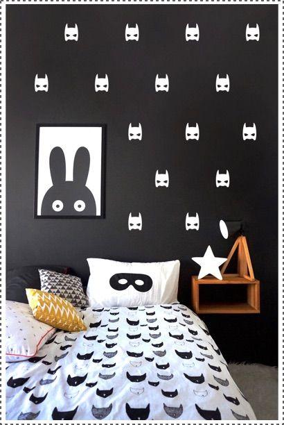 Nonostante Batman non è il mio super-eroe preferito, questa decorazione da parete non può non piacermi!!