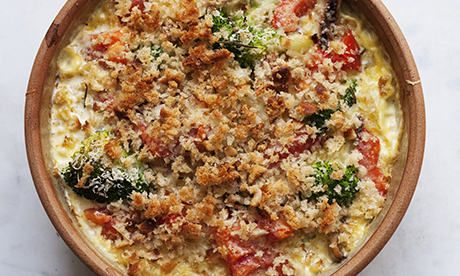 Nigel+Slater's+broccoli+and+smoked+mackerel+gratin+recipe
