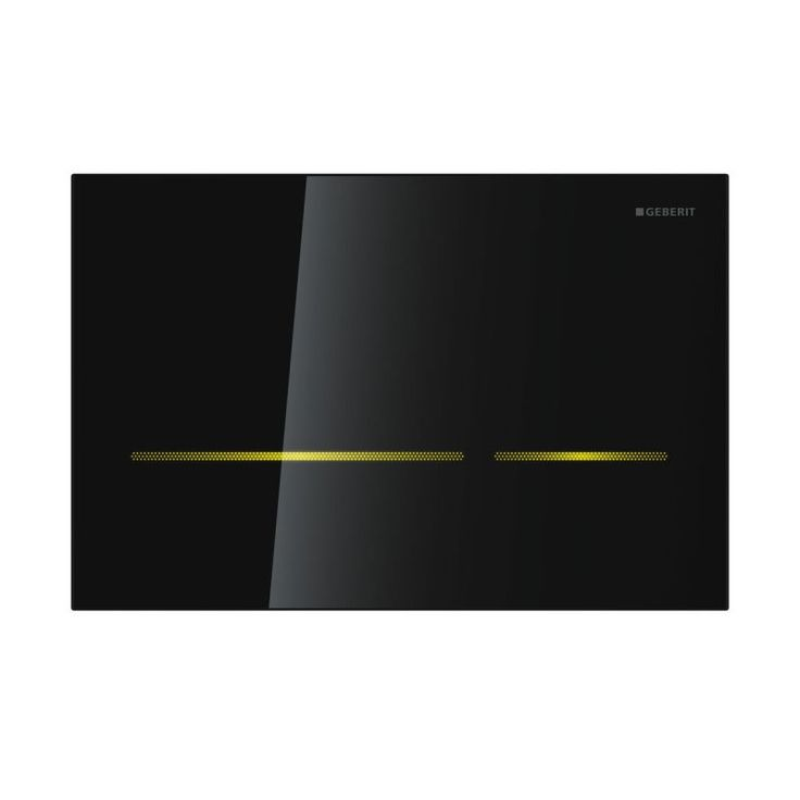 yellow motion sensor operated geberit sigma 80 touchless. Black Bedroom Furniture Sets. Home Design Ideas