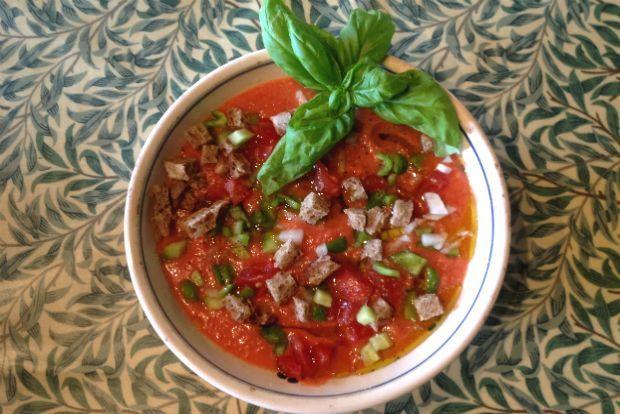 Γκασπάτσο: η ρευστή σαλάτα | Κουζίνα | Bostanistas.gr : Ιστορίες για να τρεφόμαστε διαφορετικά