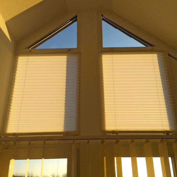 Fenster gardinen plissee verschiedene for Fenster plissee