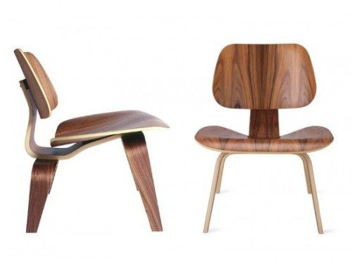 Chair 101, classic design by Eames. Lounge chair made of plywood. Can be use by everybody, can be use as a dining chair.