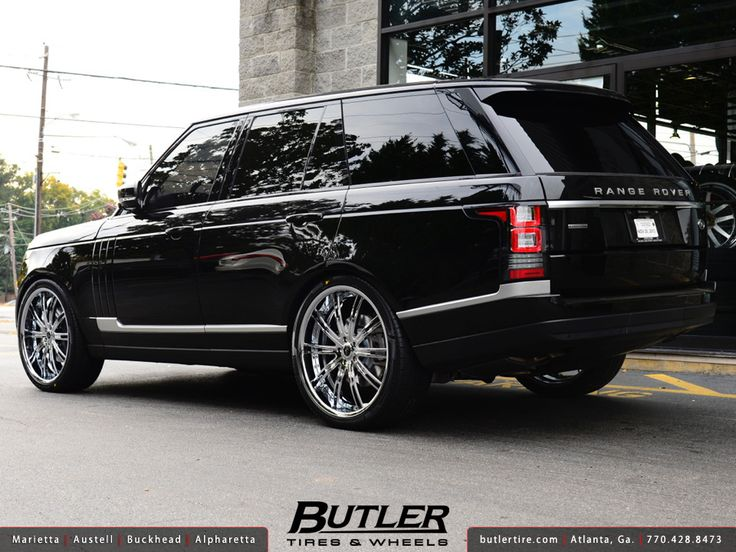 2014 Range Rover HSE with 24in Savini SV47 Wheels | Flickr - Photo Sharing!