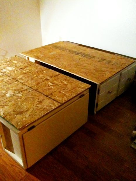 Step 3 Build Your Modular Bed Storage Ideas Pinterest