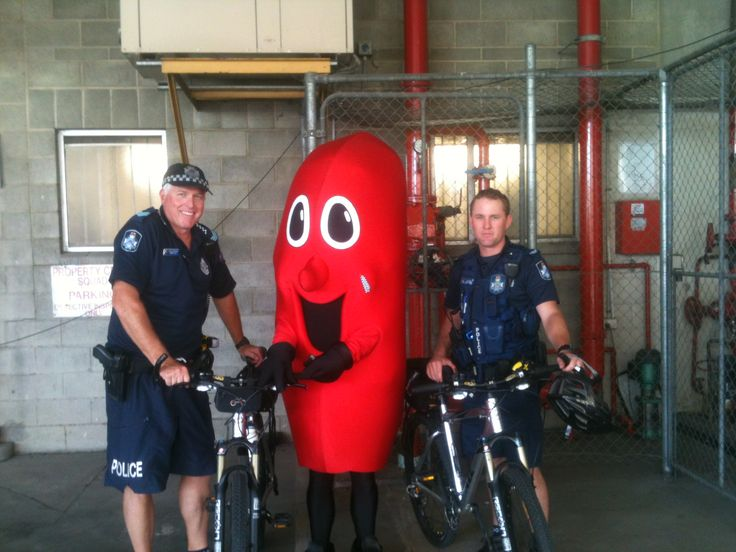 Billy the Kidney and the boys in blue, good for your health and good for the community