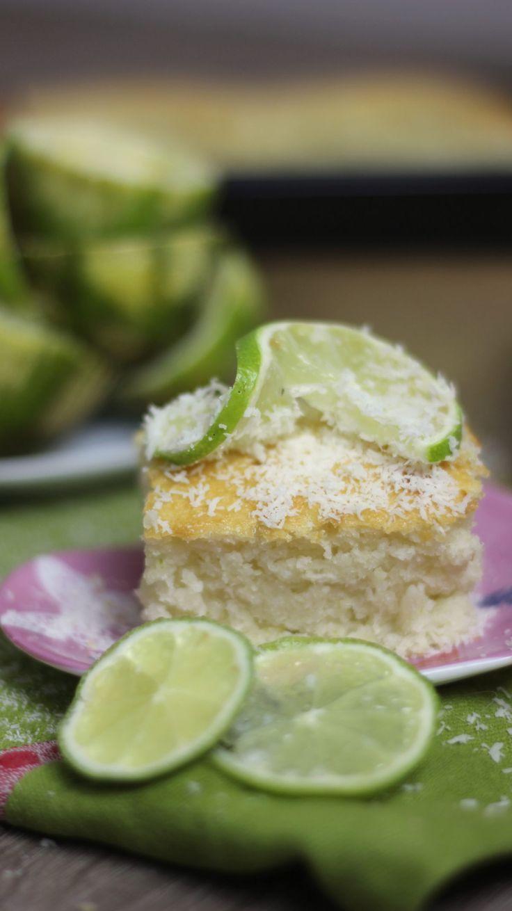 Lovely Limetten Kokos Kuchen