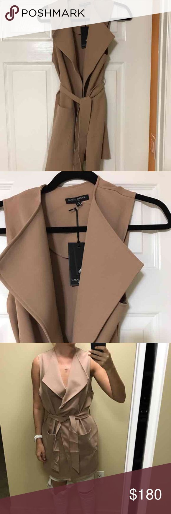 Nude vest Brand new . size M Jackets & Coats Vests