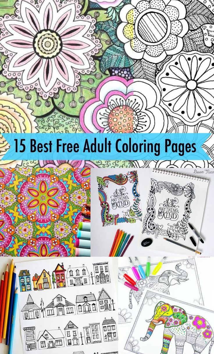 174 best Free Coloring Pages images on Pinterest  Adult coloring