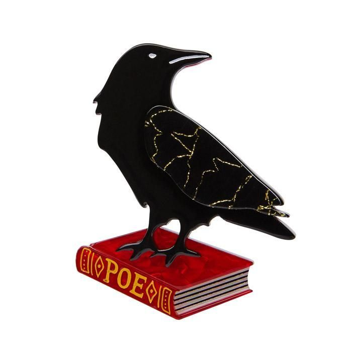"Nevermore - ""Clever birds. How's this for a scary thought:what if Edgar Allan's masterpiece was really penned by the Raven and not the man?"""