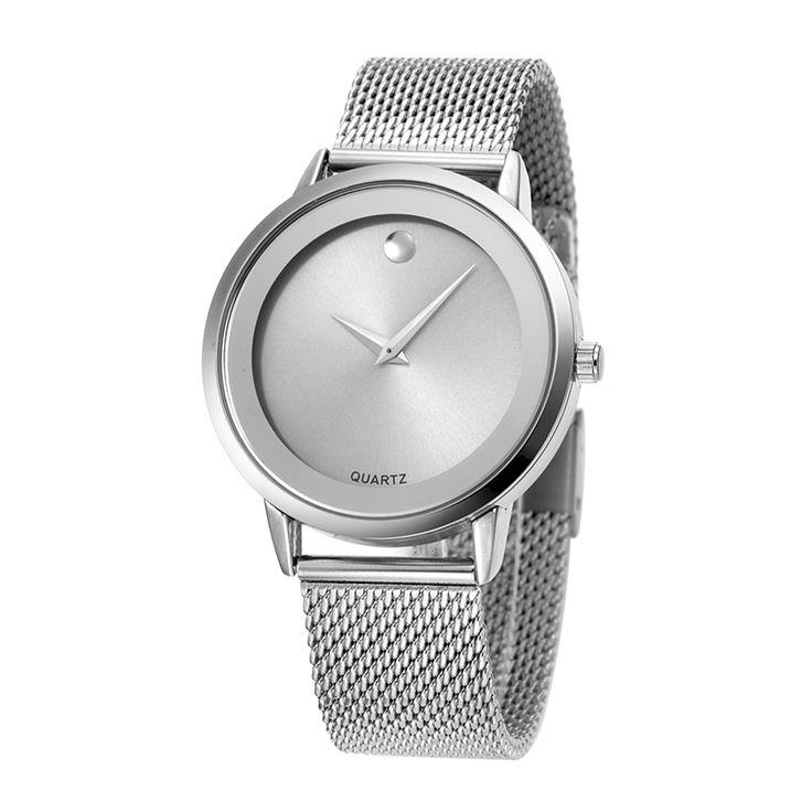 Fashion Simple Stylish Top Luxury Brand BELBI Watches womens Japan Movements Steel Mesh Waterproof Quartz-watch zegarki damskie