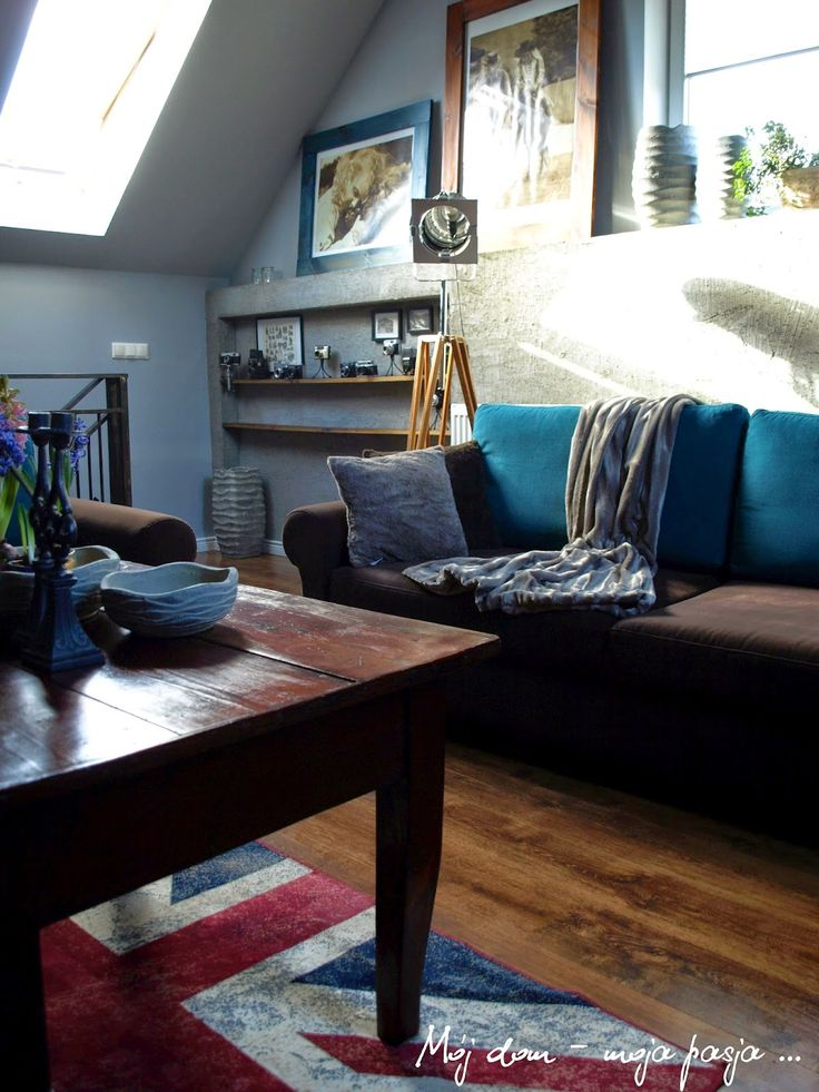 loft, industrial, decor, home, lamp, tripod, retro, blue